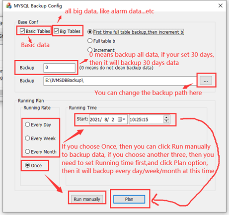 How to use MySQL Server Manager Backup and Restore data Picture2