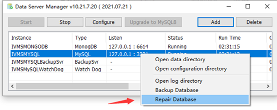 How to use MySQL Server Manager Backup and Restore data Picture4