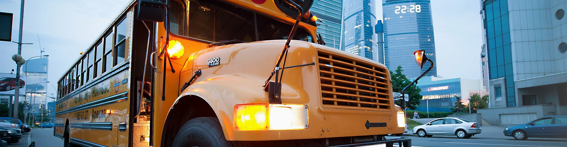 School bus monitoring solution